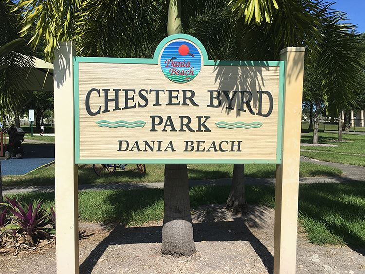 Chester Byrd Park Dania Beach