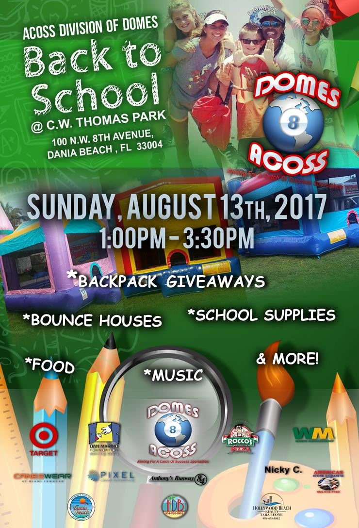 Aug 13 Back to School