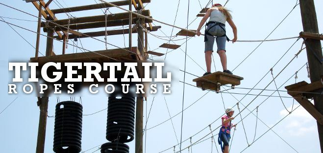 TigerTail ropes_course Tigertail Lake Center Dania Beach