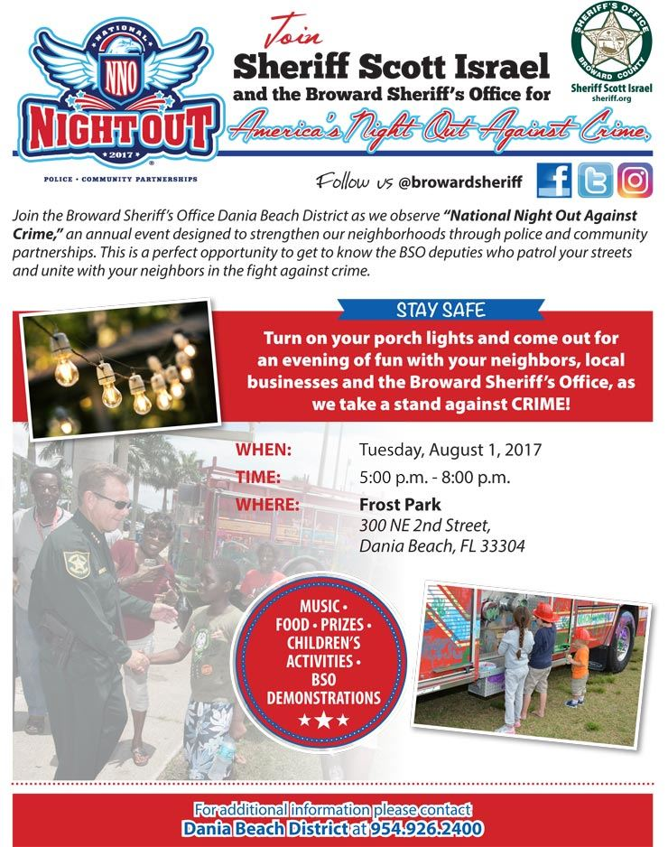 Aug 1 National Night Out