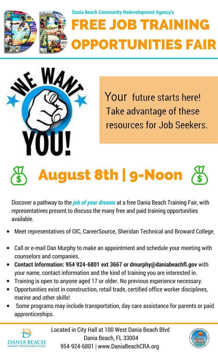 Aug 8 DBCRA  Job Skills Training