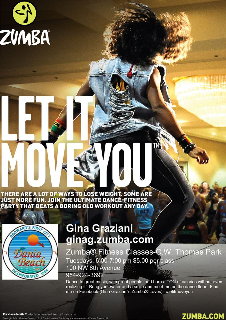 Zumba Classes at CW Thomas Park Dania Beach