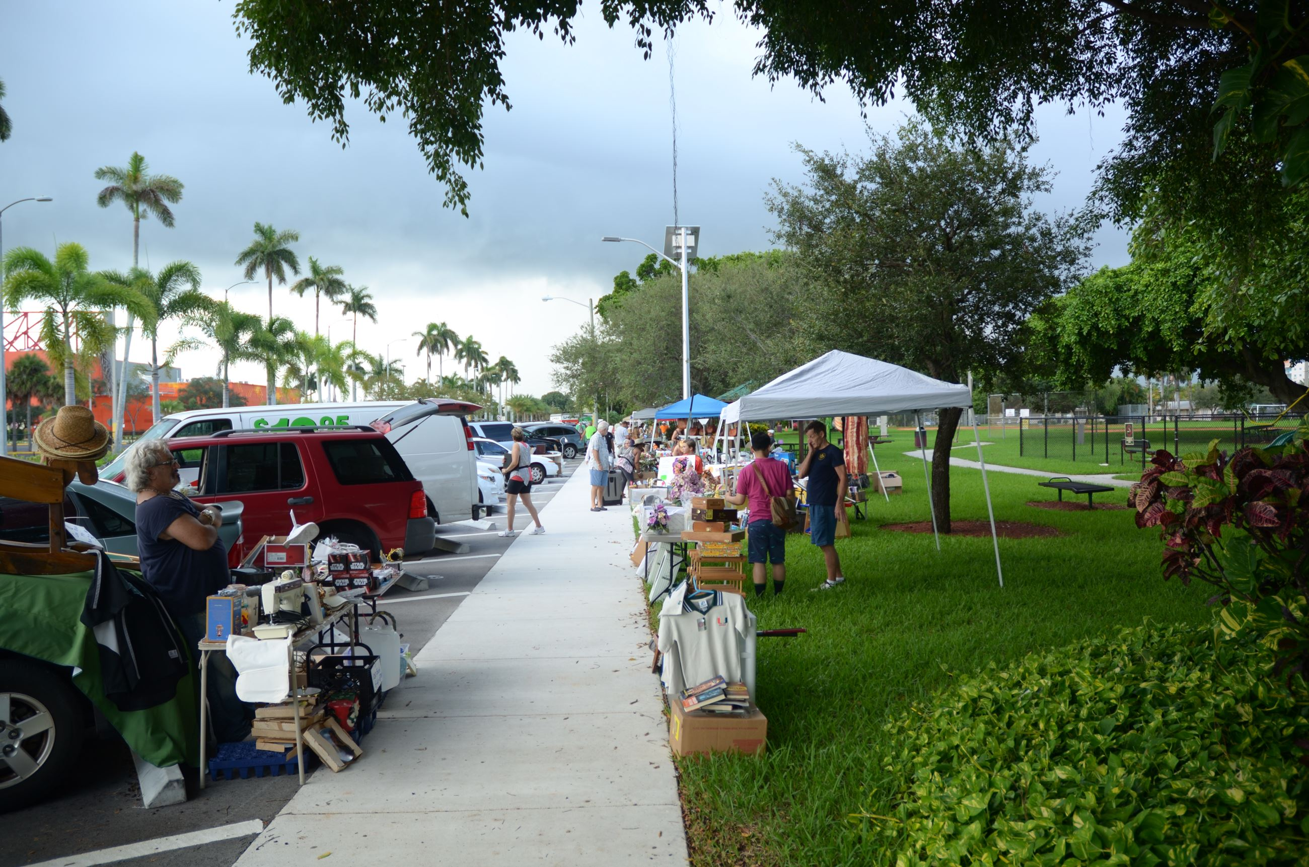 Flea Market at Frost Park Dania Beach