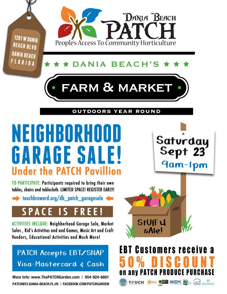 Sept 23 Neighborhood Garage Sale