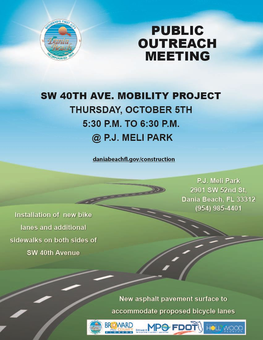 SW 40th Ave Mobility Project Public Outreach Meeting