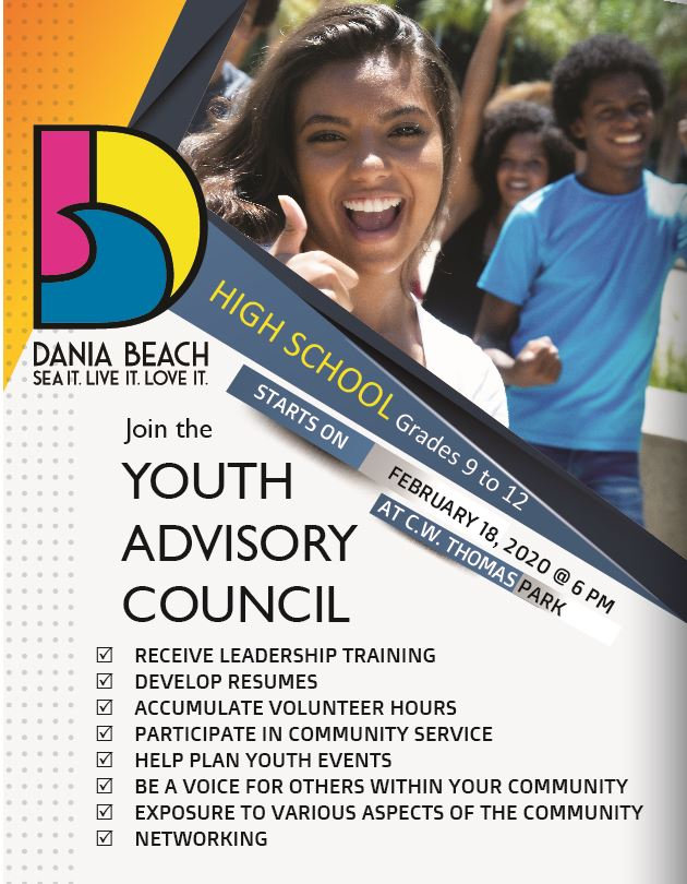 Youth Advisory Council 2020 Dania Beach