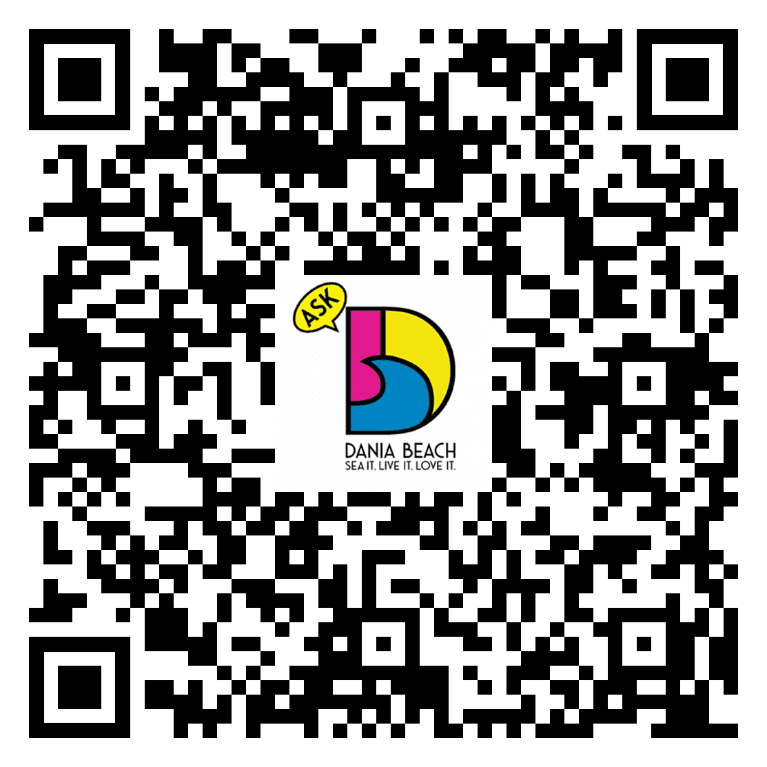 qr-code to ask dania beach google play store