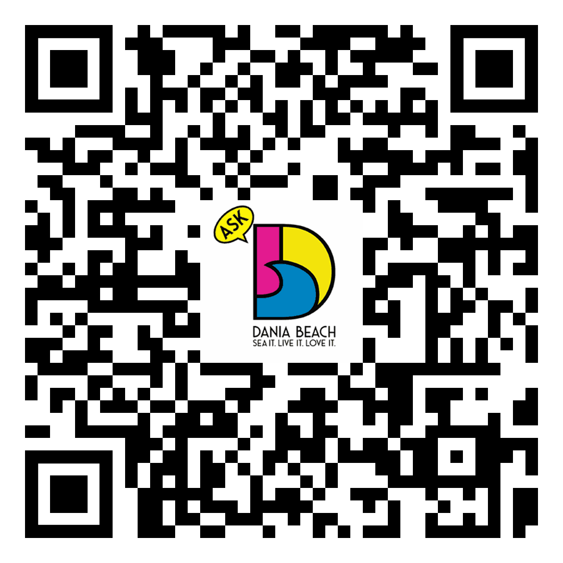 qr-code to ask dania beach apple play store