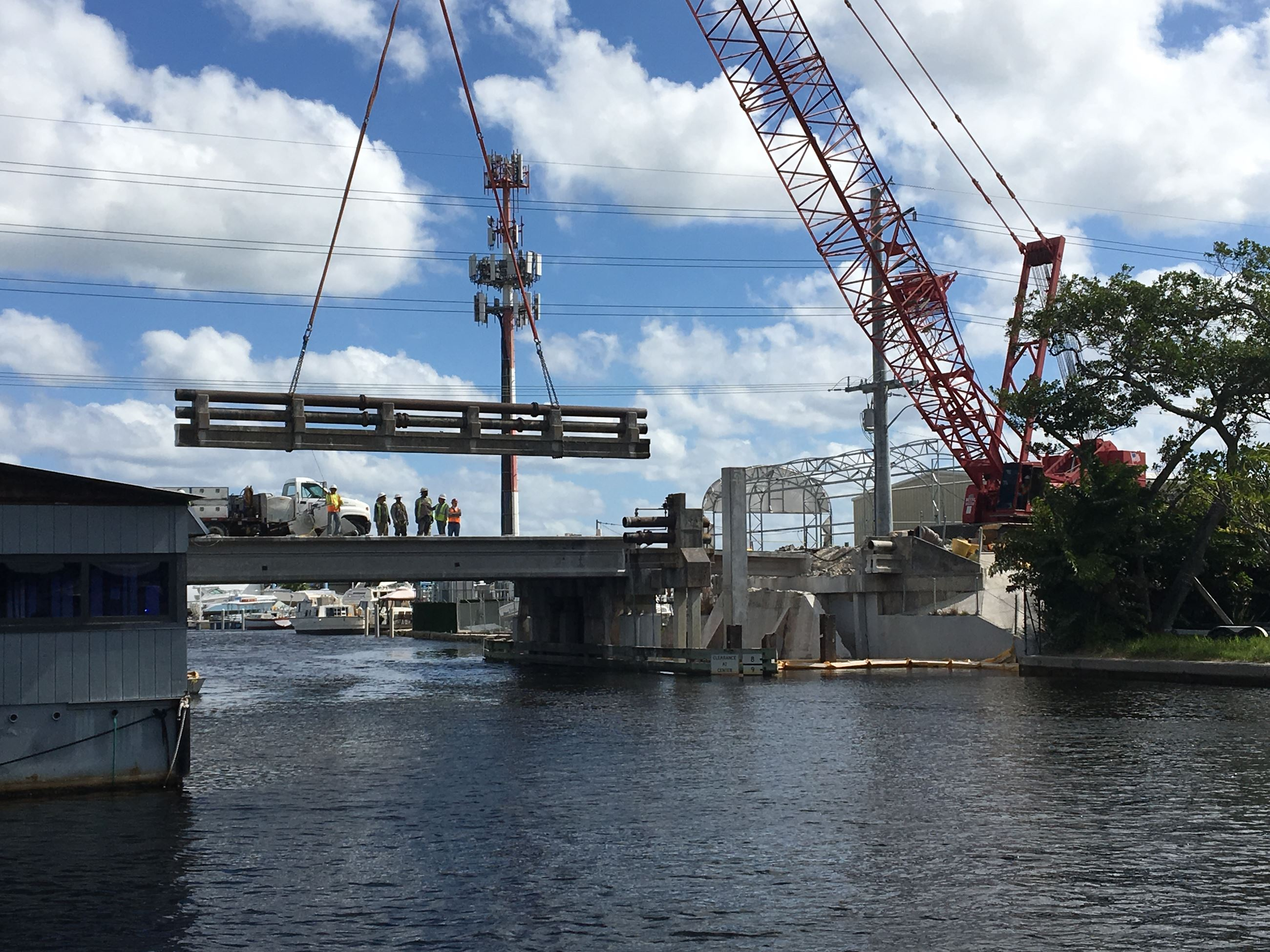 Ravenswood Bridge Construction Project Dania Beach