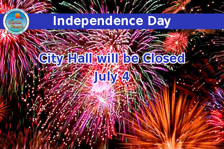 Independence Day - City Hall will be closed