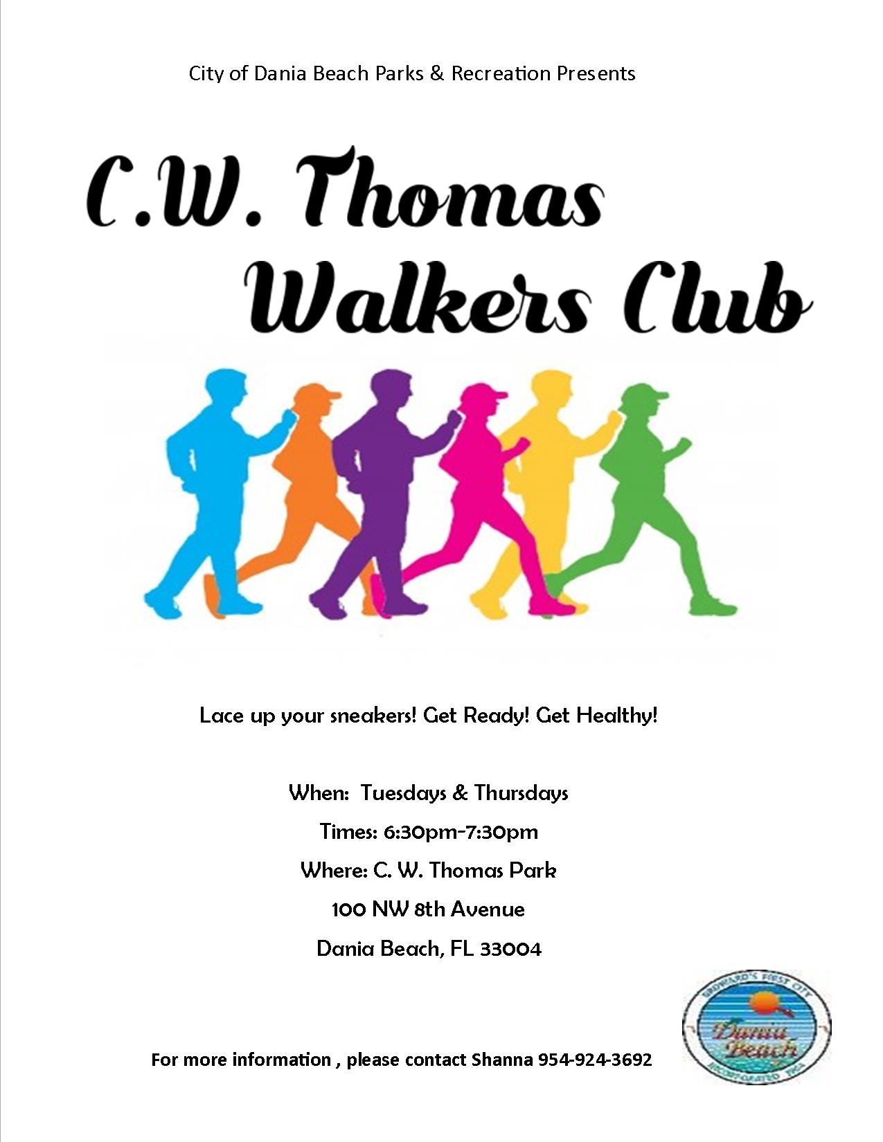 Walkers Club at CW Thomas Park Dania Beach