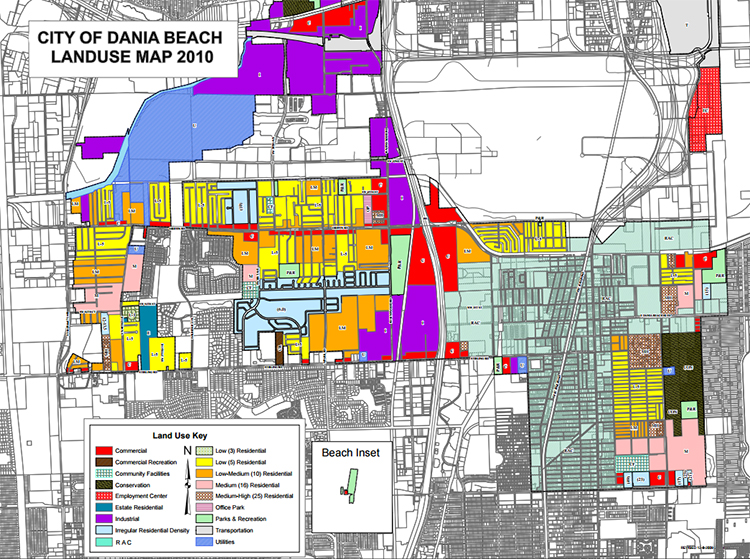 Dania Beach Land Use Map