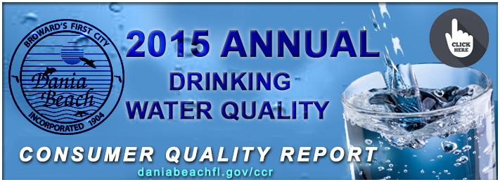 Dania Beach Water Quality Report