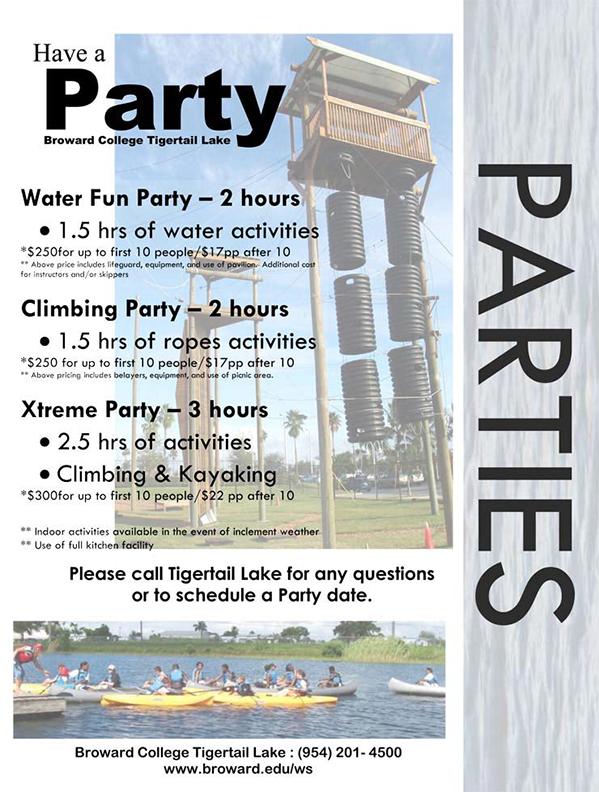 Dania Beach Tigertail Park Parties