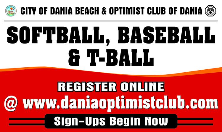 Softball, Baseball, Tball - Optimist Club of Dania